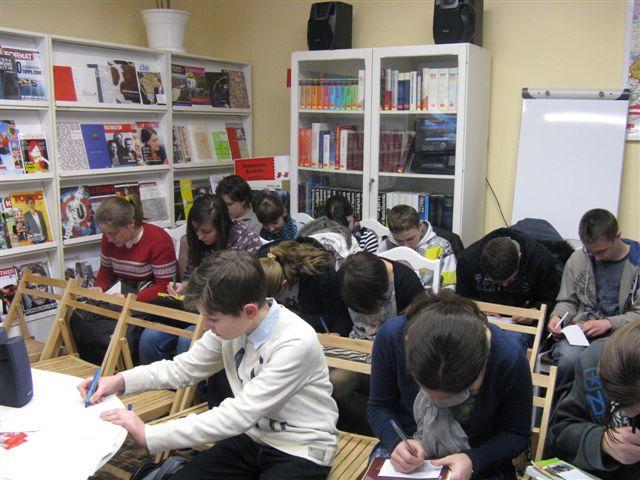 You are browsing images from the article: 03.03.2011 r. WARSZTATY JĘZYKOWE W BIBLIOTECE AUSTRIACKIEJ