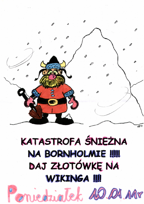You are browsing images from the article: KATASTROFA ŚNIEŻNA NA BORNHOLMIE
